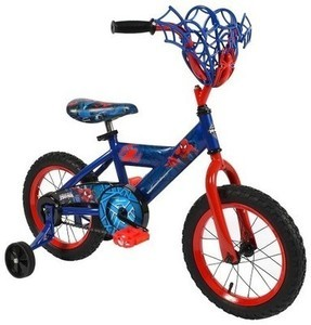 "Huffy Spider-Man Bike 14"" - Blue/Red"
