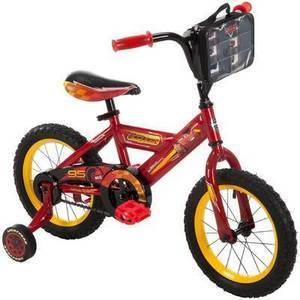 "Kids Huffy Disney Cars 3 14"" Bike"