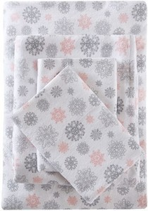 Flurries Flannel Sheet Set