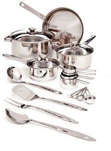 Cook's Tools 19-Pc. Stainless Steel Set