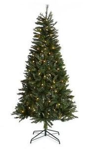 Home Accents 7.5-Ft Pre-Lit Tree