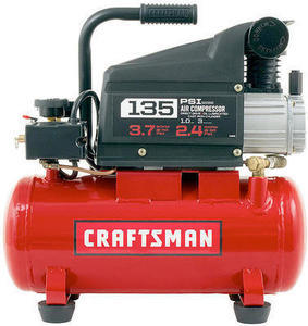 Craftsman 3Gal 1.0 HP Air Compressor & Accessory Kit
