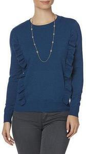 Simply Styled Women's Ruffle Sweater
