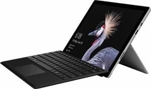 Microsoft - Surface Pro Core M with Black Type Cover - Platinum