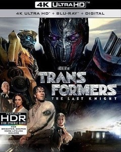 Transformers: The Last Knight 4K Ultra HD + Blu-ray + Digital