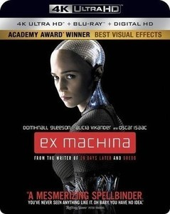 Ex Machina 4K Ultra HD + Blu-ray + Digital
