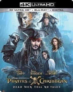 Pirates Of The Caribbean Dead Men Tell No Tales - Blu-ray