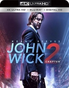 John Wick: Chapter 2 w Digital Copy [4K Ultra HD Blu-ray/Blu-ray]