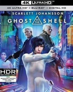 Ghost in the Shell [w Digital Copy] [4K Ultra HD Blu-ray/Blu-ray]