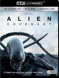 Alien: Covenant [w Digital Copy] [4K Ultra HD Blu-ray/Blu-ray]