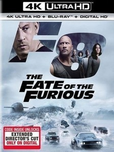 The Fate of the Furious - Digital Copy 4K Ultra HD Blu-ray
