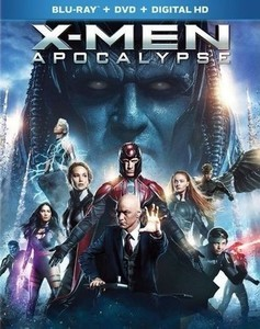 X-Men: Apocalypse [Blu-ray/DVD] [2016]