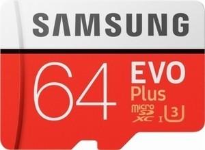 Samsung Evo Plus 64GB Micro SDXC Memory Card