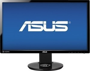"Asus - 24"" LED FHD Monitor - Black"