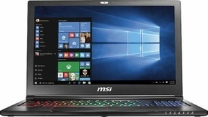"MSI GS Series Stealth Pro 15.6"" Laptop w/ Intel Core i7, 16GB Mem +  1TB HDD + 256GB SSD"