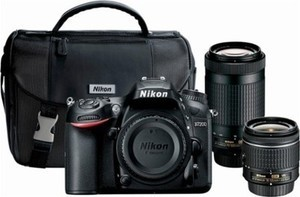 Nikon D7200 DSLR Camera with 18-55mm & 70-300MM Lens + Free 32GB Memory Card