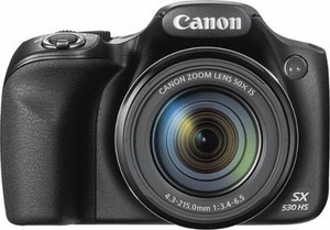 Canon PowerShot SX530 16.0-Megapixel HS Digital Camera + Free $30 Gift Card & 32GB Memory Card