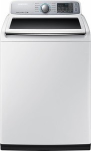 Samsung - 5.0 Cu. Ft. 11-Cycle High-Efficiency Top-Loading Washer - White