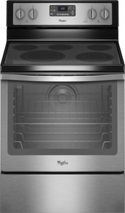 Whirlpool 6.4 Cu. Ft. Self-Cleaning Freestanding Electric Convection Range - Stainless steel