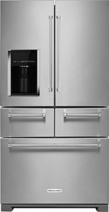 KitchenAid - 25.8 Cu. Ft. 5-Door French Door Refrigerator