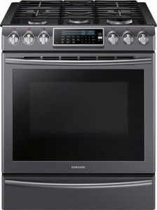 Samsung 5.8 Cu. Ft. Self-Cleaning Slide-In Gas Convection Range
