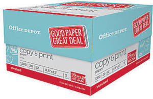 Office Depot Brand Copy & Print Paper After Rewards