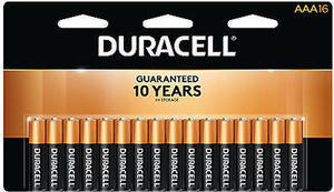 Duracell Coppertop Alkaline AAA Batteries Pack Of 16 After Rewards