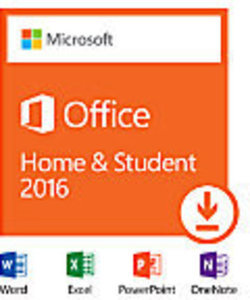 Office Home & Student 2016, 1 PC, Download Version Office Home & Student w/ PC Purchase