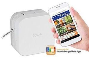 p touch cube smartphone dedicated label maker 39 99 at staples on