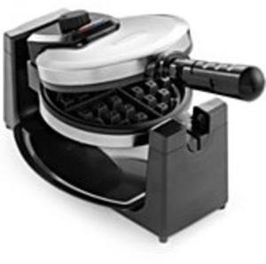 Bella Polished Stainless Steel Rotary Waffle Maker After Rebate