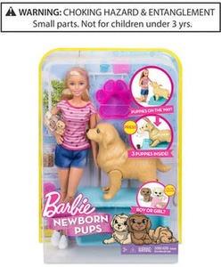 Mattel's Newborn Pups Doll & Pets
