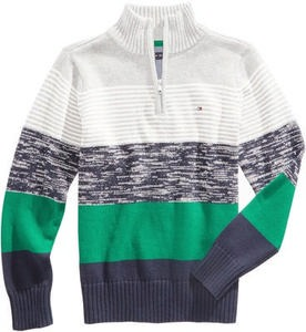Tommy Hilfiger Reggie Striped Cotton Sweater