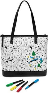 Doodlz Coloring Large Tote
