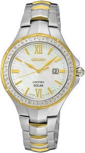 Seiko Women's Coutura Solar Diamond Watch