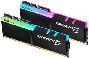 G.Skill Trident Z RGB Series 16GB (2 x 8GB) 288-Pin DDR4 SDRAM DDR4 2400 (PC4 19200) Desktop Memory Model F4-2400C15D-16GTZR