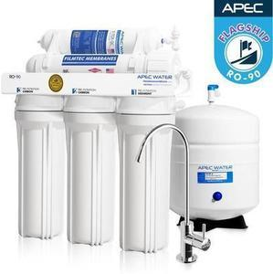 Apec RO-90 Top Tier Supreme Ultra Safe Drinking Water Filter System