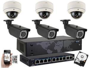 GW 5MP Full PoE IP Camera Security System