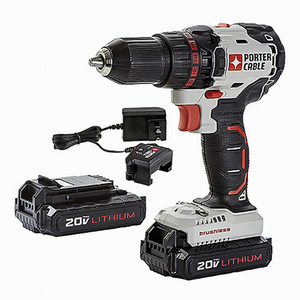 PORTER-CABLE 20-Volt Max 1/2-in Cordless Brushless Drill