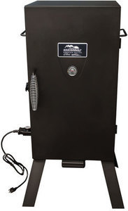 Masterbuilt JMSS 1500-Watt Black Electric Vertical Smoker (Common: 41.157-in; Actual: 41.157-in)