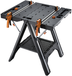 WORX Pegasus 31-in W x 32-in H Plastic Work Bench