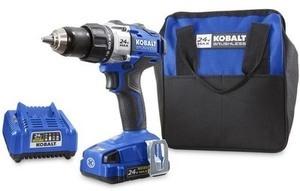 Kobalt 24-Volt Max 1/2-in Cordless Brushless Drill