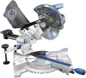 Kobalt 7-1/4-in 9-Amp Bevel Sliding Laser Compound Miter Saw