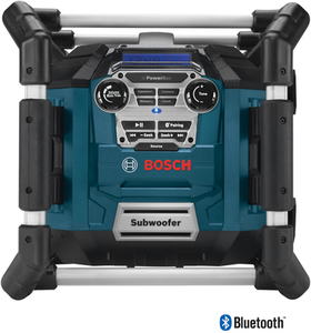 Bosch PowerBox Water Resistant Cordless Jobsite Radio