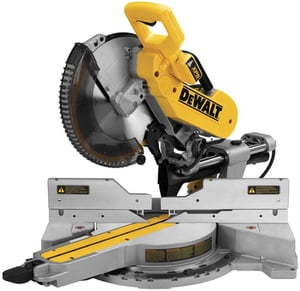 DEWALT 12-in 15-Amp Dual Bevel Sliding Compound Miter Saw + Free Miter Saw