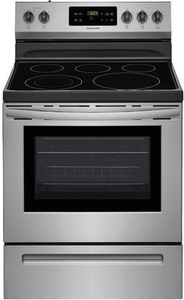 Frigidaire Smooth Surface Freestanding 5-Element 5.4-cu ft Self-Cleaning Electric Range 29.875-in