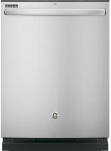 GE 52-Decibel Built-In Dishwasher w Bottle Wash & Hard Food Disposer 23.75-in Energy Star