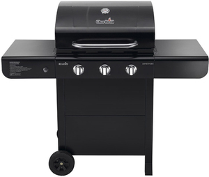 Char-Broil Black 3-Burner Liquid Propane Gas Grill