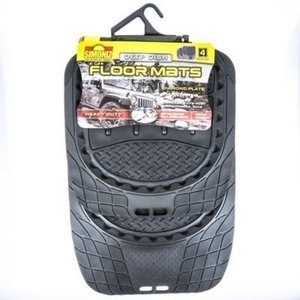 Simoniz 4 Pc. Deep Floor Mat