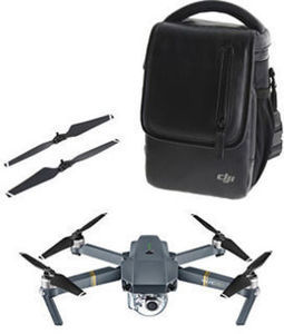 DJI Mavic Pro Bundle (Drone, Bag, Extra Props)