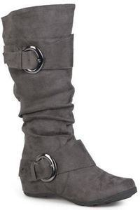 Journee Collection Women's Slouch Buckle Boot